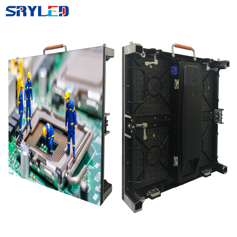 Die casting aluminum indoor /Outdoor rental led display screen p3.91 , p4.81 , p5.95 , p6.25 smd