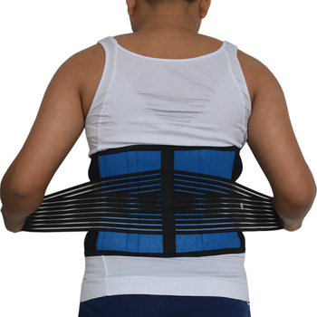 Men's Posture Brace Back Support Therapy Lumbar Traction Belt Posture Correction Pain Relief High Elastic Large Size XXXXL Y010