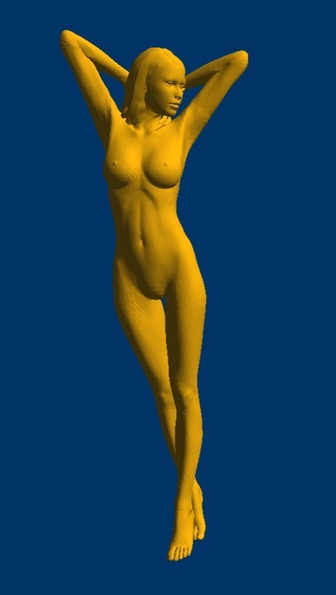 Image 3 - New 3D model for cnc 3D carved figure sculpture machine in STL file format naked woman 1-in Wood Routers from Tools
