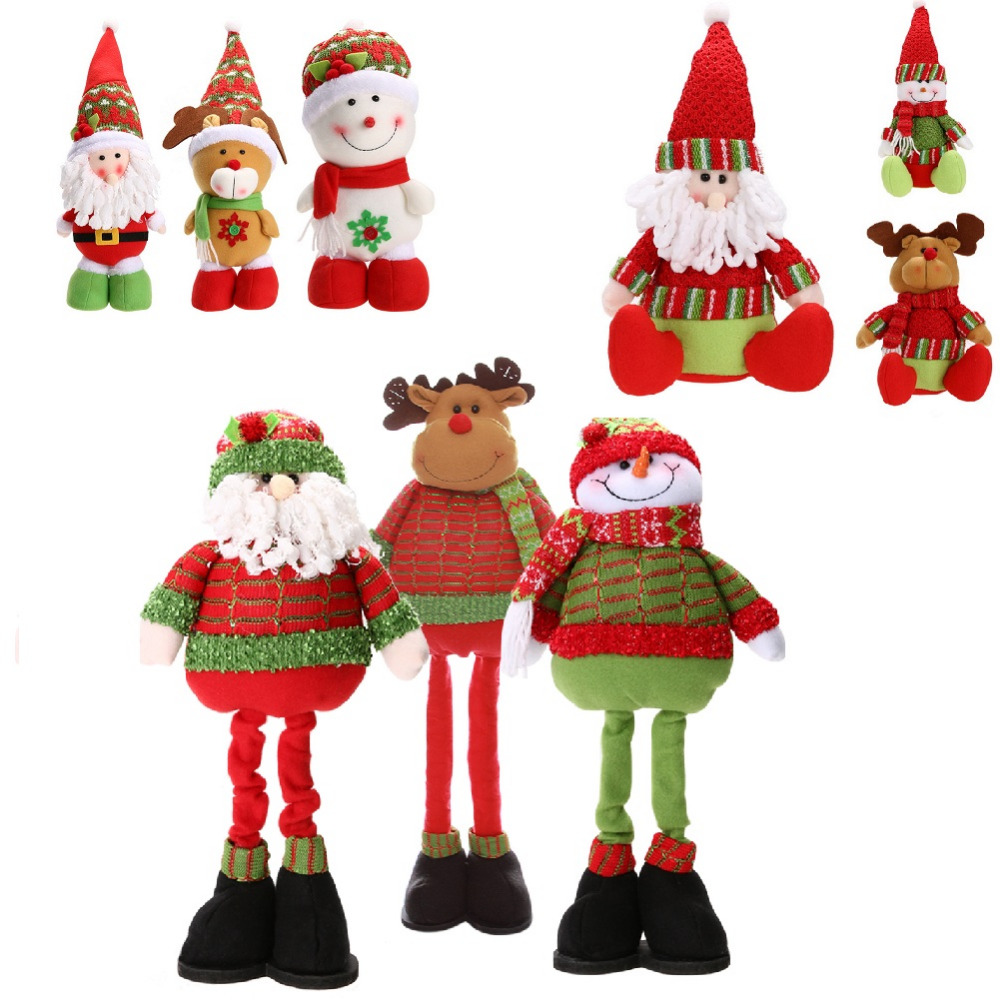 Buy snoman santa claus deer christmas for Decoration 4 christmas