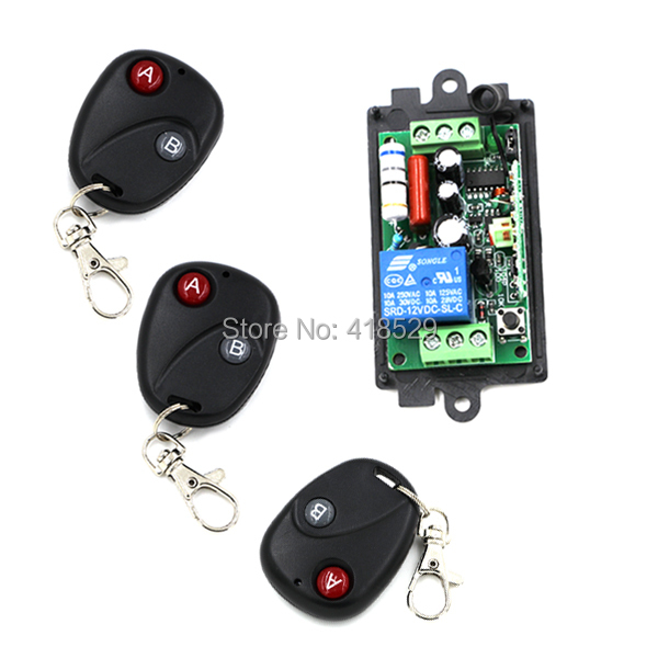 Top selling!! 1 channel universal remote control Fixed code Remote 315/433 mhz soldering SKU: 5068