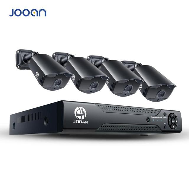 Jooan 8ch 1080n cctv dvr 홈 보안 카메라 시스템 1080p 방수 야외 비디오 감시 키트 videosorveglianza
