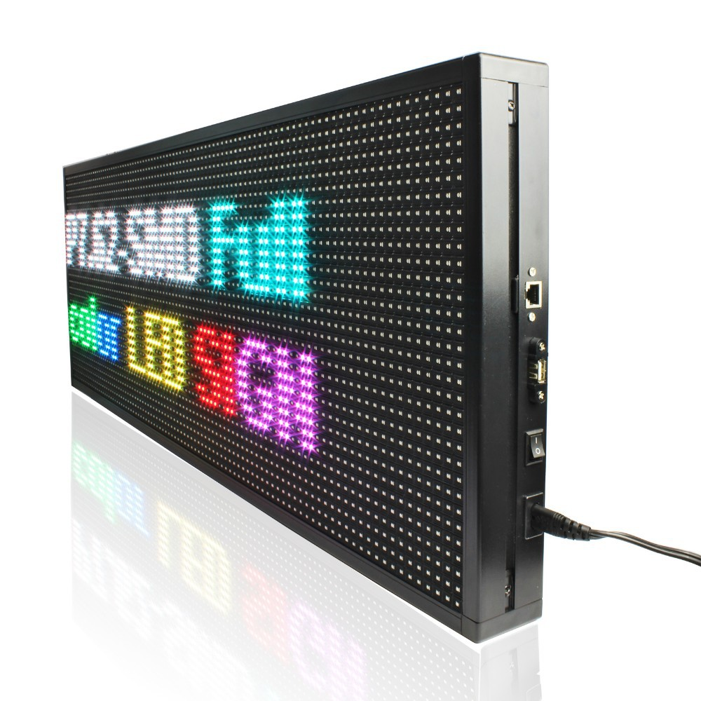 led display sign board led sign led business board