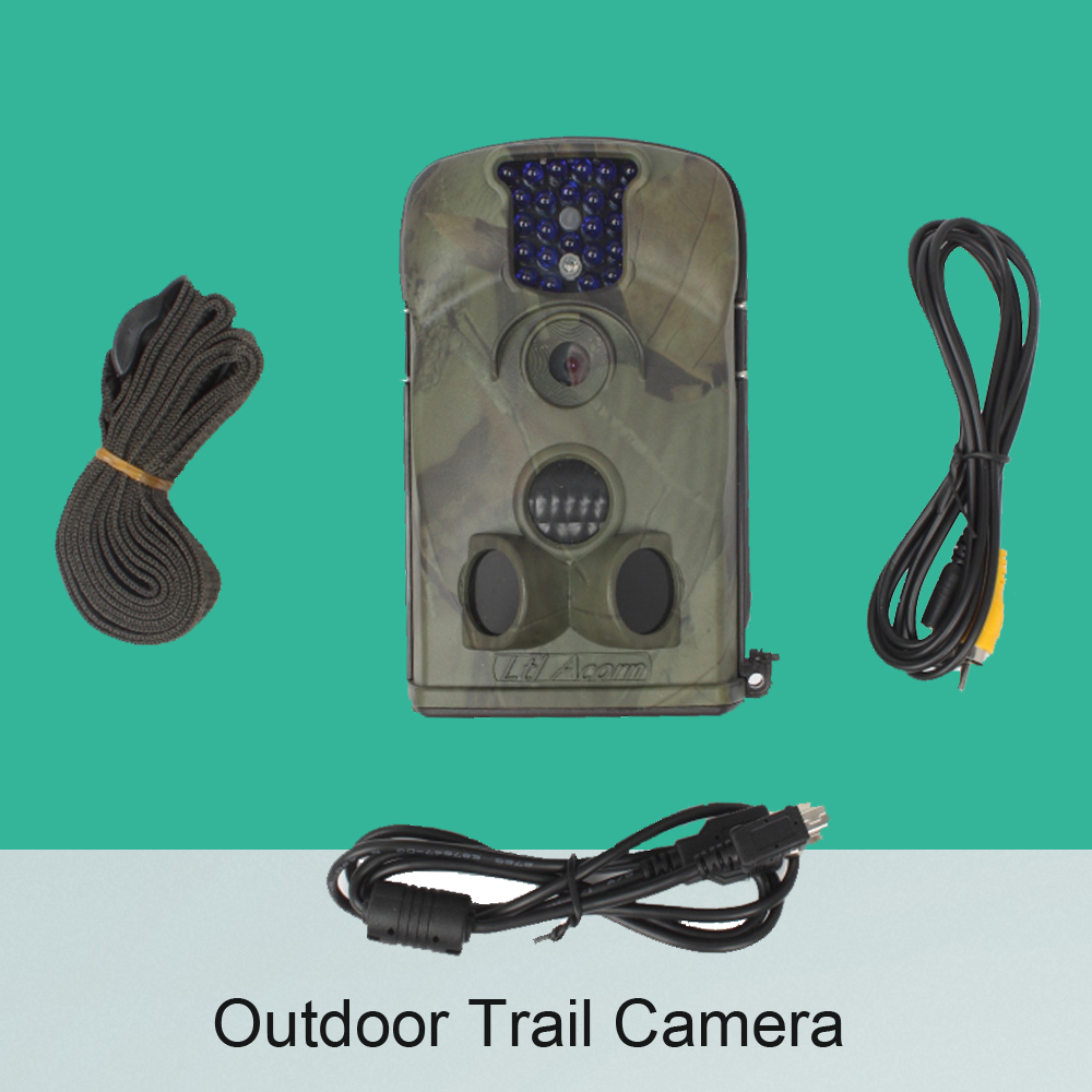 Full 1080P Video Recorder Outdoor waterproof PIR Motion Detector Wide life Surveillance Camera Hunter Trail Camera Security Came