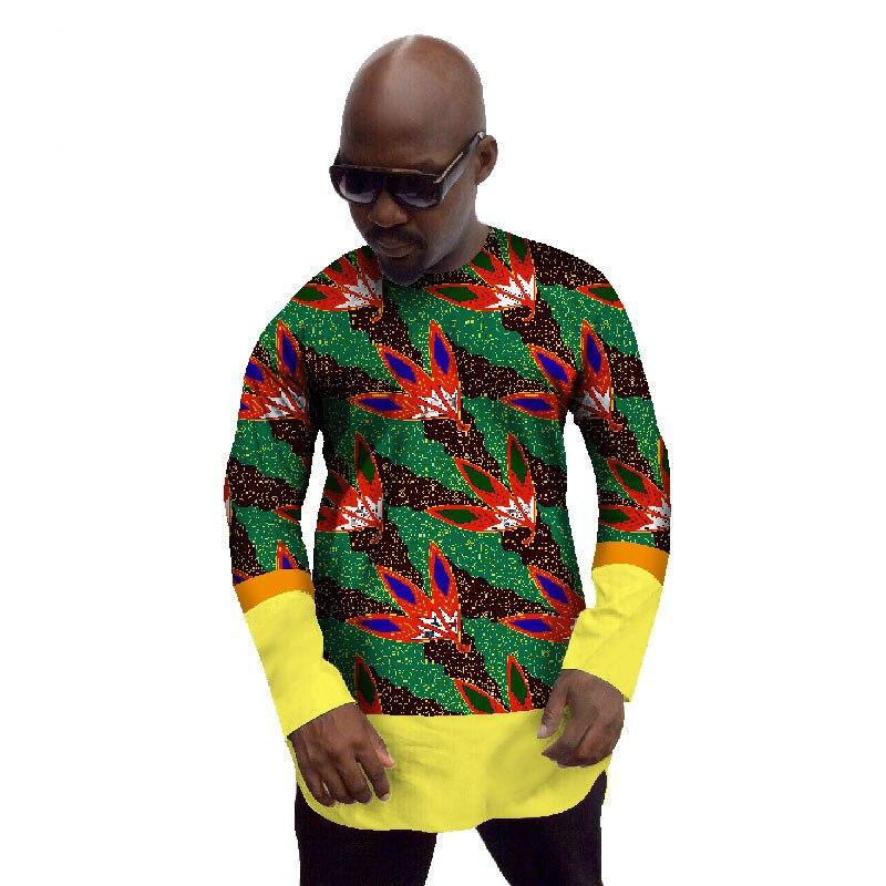 aee2b412e862 Vêtements 6xl Manches M T Design Mens 4 O Homme Mode Africain Cou Longues  Taille Coton 3 ...