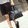 2016 High Quality Small Business Men leather travel duffle bag sac de voyage Cossbody Men large Bag bolsa de couro masculina