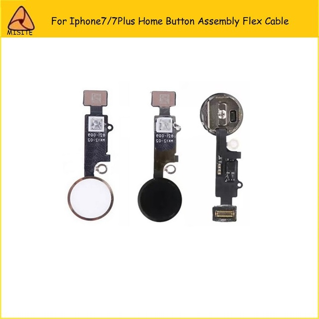 sports shoes 6d045 4c085 US $12.99 |5PCS/LOT Home Button Flex Ribbon Cable Assembly For iPhone 7  7plus home key black/white/gold/rose gold color cellphone parts-in Mobile  ...