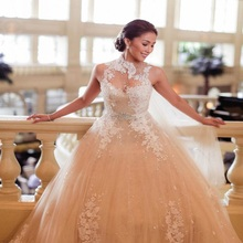 TPSAADE 2016 Sexy Ball Gown Wedding Dresses Bridal Gowns