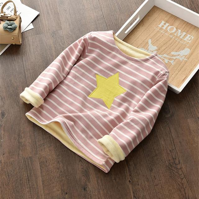 BibiCola meisjes sweatshirts lente herfst warme kleding leuke lange mouw truien voor meisjes kinderen kleding top