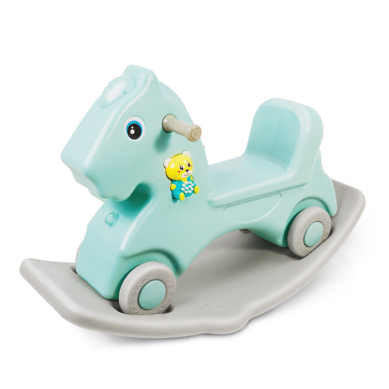 Baby rocking horse <font><b>bouncers</b></font> which can play music and high quality toy car for 1-3years baby
