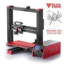 2017 Последним TEVO Черная Вдова 3D комплект Принтера Большая Площадь Печати OpenBuild Экструзии Алюминия МКС Mosfet Более Надежным Для 3D