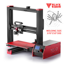 2017 Newest TEVO Black Widow 3D Printer kit Large Printing Area OpenBuild Aluminium Extrusion MKS Mosfet More Reliable For 3D