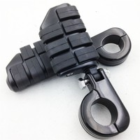 Aftermarket Free Shipping Motorcycle Parts 1 1 4 Kuryakyn Dually Highway P Clamps Large Foot Pegs