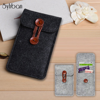Cho điện thoại bag hợp đối với samsung galaxy S8/S8Plus trường hợp Cho galaxy note5 4 3 N9000 túi di động túi Che Len Cảm Thấy ví