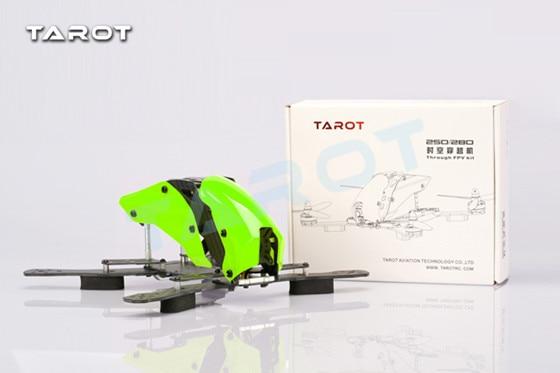 Tarot Mini 250 Shuttle Rack Half Carbon Version TL250H tarot mini 250 shuttle rack carbon version tl250c racing drone free track shipping
