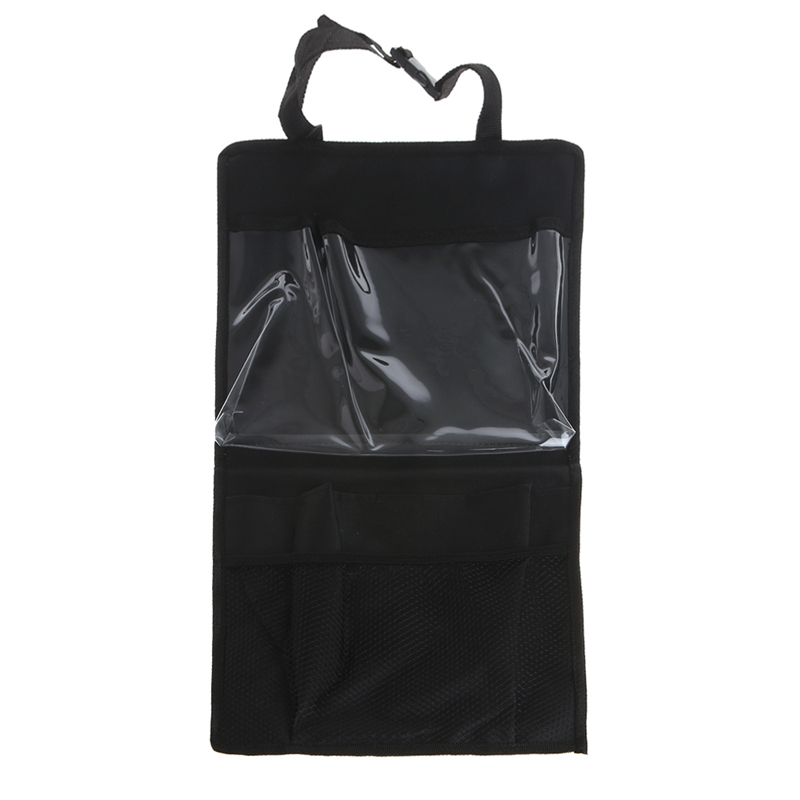 Car Seat Back Bag Children Travel Essential Ipad Tablet Kick Mat W15