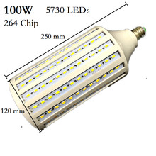 Super Bright 5730 50W 60W 80W 100W LED Lamp E27 B22 E40 E26 85-265V Corn Bulbs Pendant Lighting Chandelier Ceiling Spot light(China)