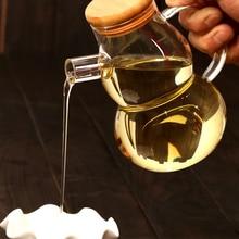 Bleifreies Glas Öl Küche Drehen Öler dicht Lekythos Sesamöl Flasche Küche Liefert Geschirr Lekythos