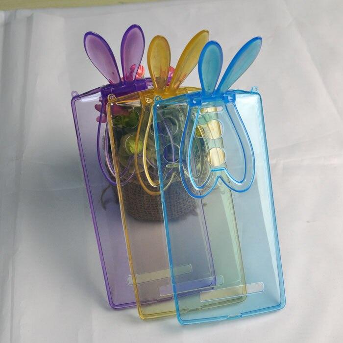 Милые модные Защитный Мягкий чехол для AllView X2 Xtreme кроличьи уши ТПУ телефон чехол с ремешок Бесплатная доставка Новое поступление