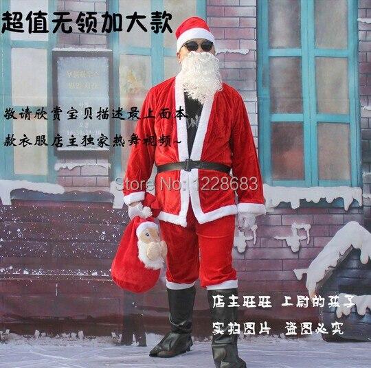 Costume de Noel Papai Noel Cosplay Costume de Noel