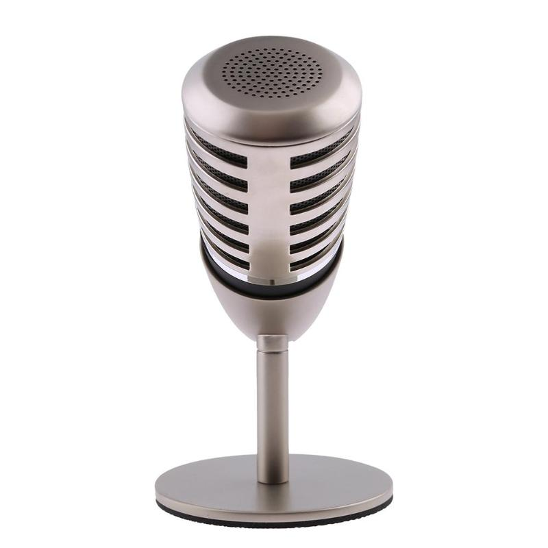 1.5V 44.1KHz SF-700B Cardioid Condenser USB Microphone 3 Polar Patterns 6 Pin XLR Wired Mic with Holder for Laptop PC Notebook sf 666 3 5mm audio jack wired condenser microphone