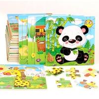 30 см детские игрушки Деревянные Монтессори головоломки/ручной захват доска набор образовательных деревянных игрушек Мультфильм автомобил