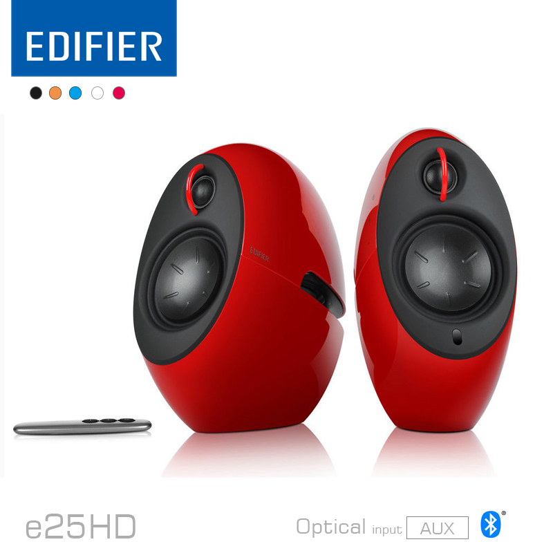 Edifier e25HD Luna Eclipse HD TV and Living Rooms Bluetooth Speakers with Digital Optical Input and AUX