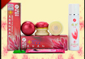 Free Shipping YiQi Beauty Whitening 2+1 Effective In 7 Days A+B+C+cleaning (red cover)