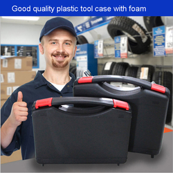 PP أداة صندوق الأدوات حقيبة الأدوات الإلكترونية صندوق من البلاستيك صندوق السلامة صندوق المعدات المنتج التعبئة والتغليف حقائب اليد 327*236*76 MM