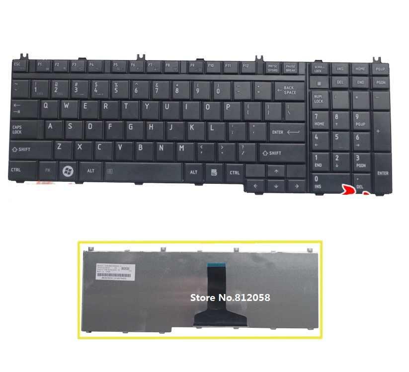SSEA Atacado Novo Teclado DOS EUA Para O TOSHIBA Satellite P305 P305D L350D L355 L355D P500 P505D L505 L505D L550 L550D L555 laptop