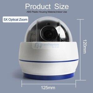 Image 5 - Беспроводная скоростная купольная IP камера PTZ, Wi Fi, HD, 1080P, 2 МП, автофокус, 5 кратный зум, 2,7 13,5 мм, внутреннее аудио, SD карта, ИК, ночная, Onvif, P2P