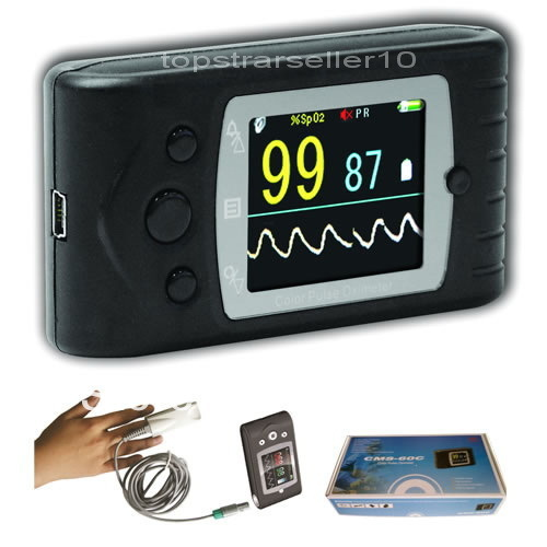 CMS60C Digital Portable Handheld Pulse Oximeter With Software Finger Blood Oxygen Monitor Pulse Rate SPO2 Saturator adult pulse oximeter new pulse oxygen spo2 monitor blood oxygen meter pulse rate cms60c pulse ox