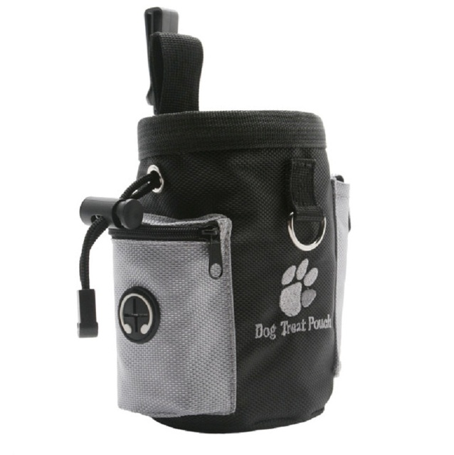 Dog Training Treat Bags Portable Detachable Doggie Pet Feed Pocket Pouch Puppy Snack Reward Waist Bag 12*8*12 cm