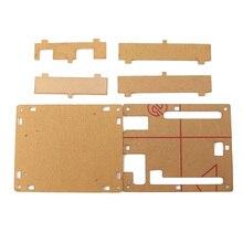 OOTDTY Прозрачный Акриловый Чехол Корпус Компьютера Коробка Для Arduino UNO R3