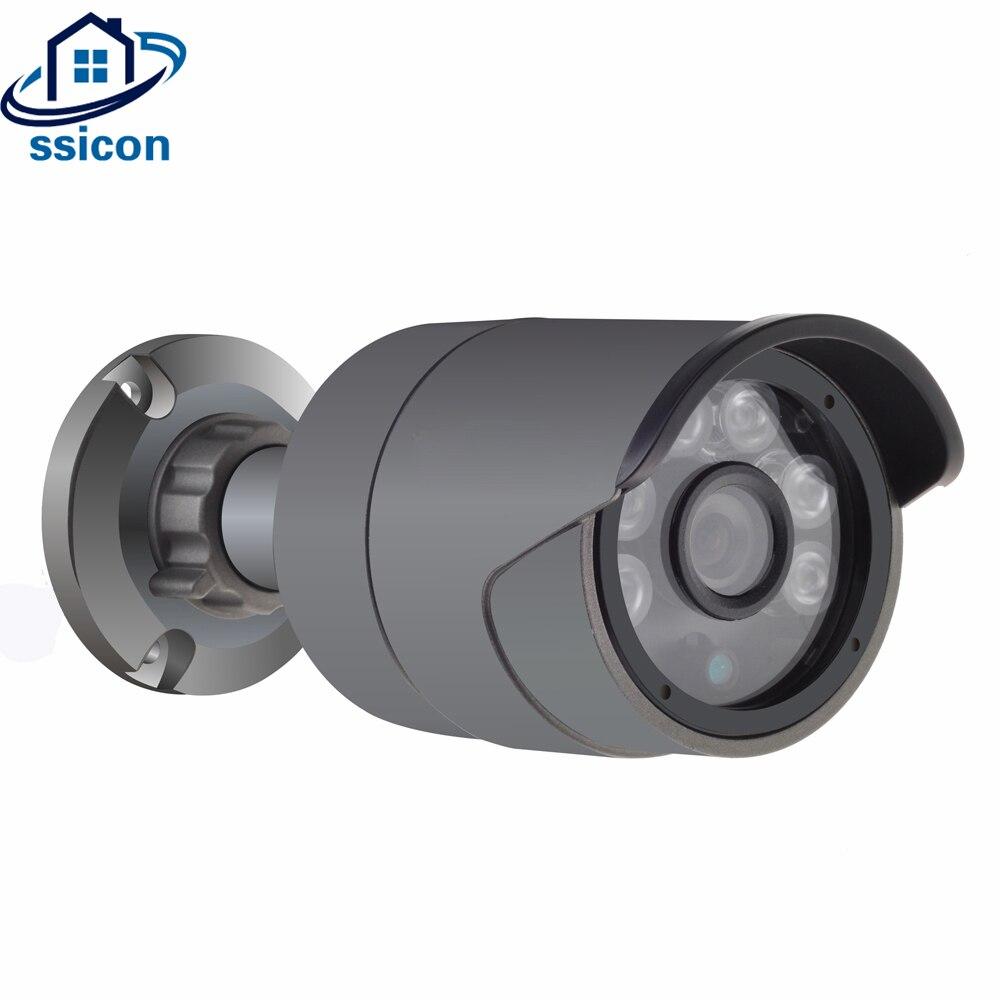 SSICON Waterproof OV4689 CMOS Sensor AHD 4.0MP Camera Outdoor IR Distance 20M 6Pcs Array leds Security Surveillance CameraSSICON Waterproof OV4689 CMOS Sensor AHD 4.0MP Camera Outdoor IR Distance 20M 6Pcs Array leds Security Surveillance Camera