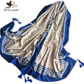 Europe British Style Plaid Oblong Scarf and Wrap Women New Fashion Grid Scarf and Shawl Oversized Soft Geometric Pashmina