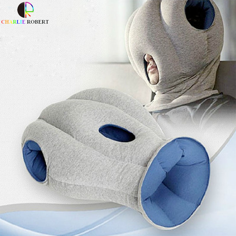 office sleeping pillow. the magical ostrich pillow trip office nap siesta car everywhere nod off to sleep 2 color sleeping a