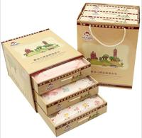 100 Cotton Autumn Winter Newborn Set Gift Full Moon Baby Clothing Set Infant Set Gift Newborn
