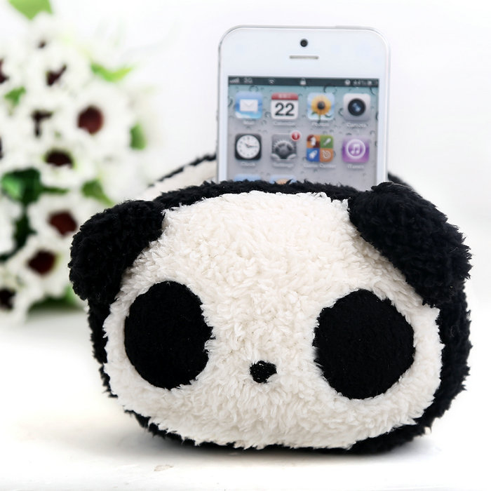 Big Toy Car Holder : Plush toy animal carl mobile phoneholder stand pouch case
