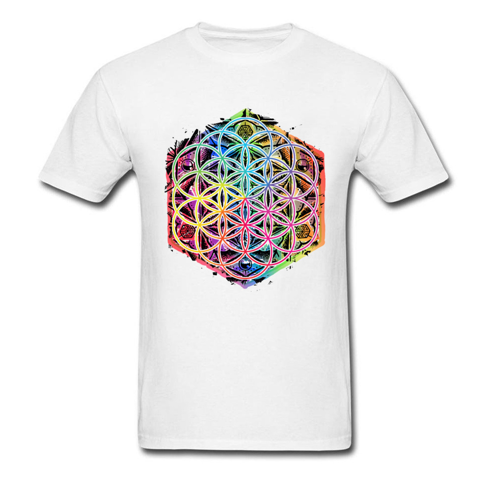 Men's Rainbow Mandala T-Shirt 3