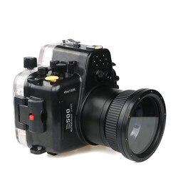 Meikon Waterproof Underwater Camera Housing Case Diving Equipment 60m/195ft for Nikon D500 Camera