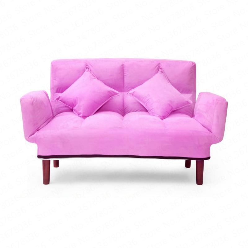 Ленивый диван Двойная маленькая квартира небольшой диван балкон спальня один простой складной татами шезлонг складное кресло качалка