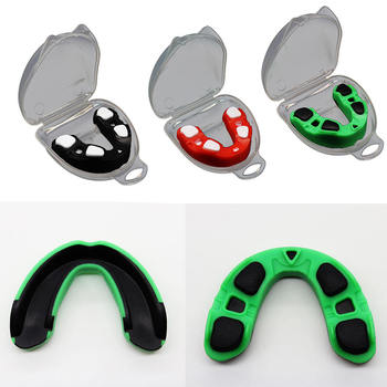 Dwa kolor boks szelki zęby Protector ochraniacz na zęby sport boks ochraniacz na zęby ochrony zębów dla koszykówka Rugby boks tanie i dobre opinie SP03172A1