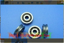 V0310  3*10*3mm open type V0310 for Computer weaving, fishing, textile machinery V-groove pulley wheel bearing
