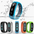 Smart Wristband E02 Sports Sleep Tracking Bracelet Fitness Tracker Smartband Call Message Remind Anti Lost Band For Android IOS