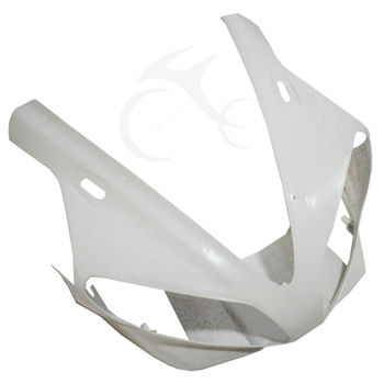 Motorcycle Front Upper Fairing Cowl Nose Head Unpainted For YAMAHA YZF R1 YZF-R1 2000-2001