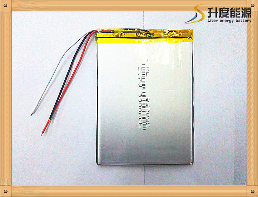 Three wire battery 357095 3.7V 3000mah 357096 (polymer lithium ion battery) Li-ion battery for tablet pc 7 inch MP3 MP4 [357095] 3 7v lithium polymer battery 4070100 3000mah battery pocket pc source newman f70