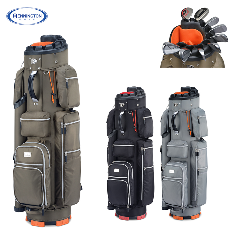Bennington Golf bag Men's Espresso  Cart bag  A Specialist of  Golf Clubs Protection  EMS Free shipping free shipping dbaihuk golf clothing bags shoes bag double shoulder men s golf apparel bag