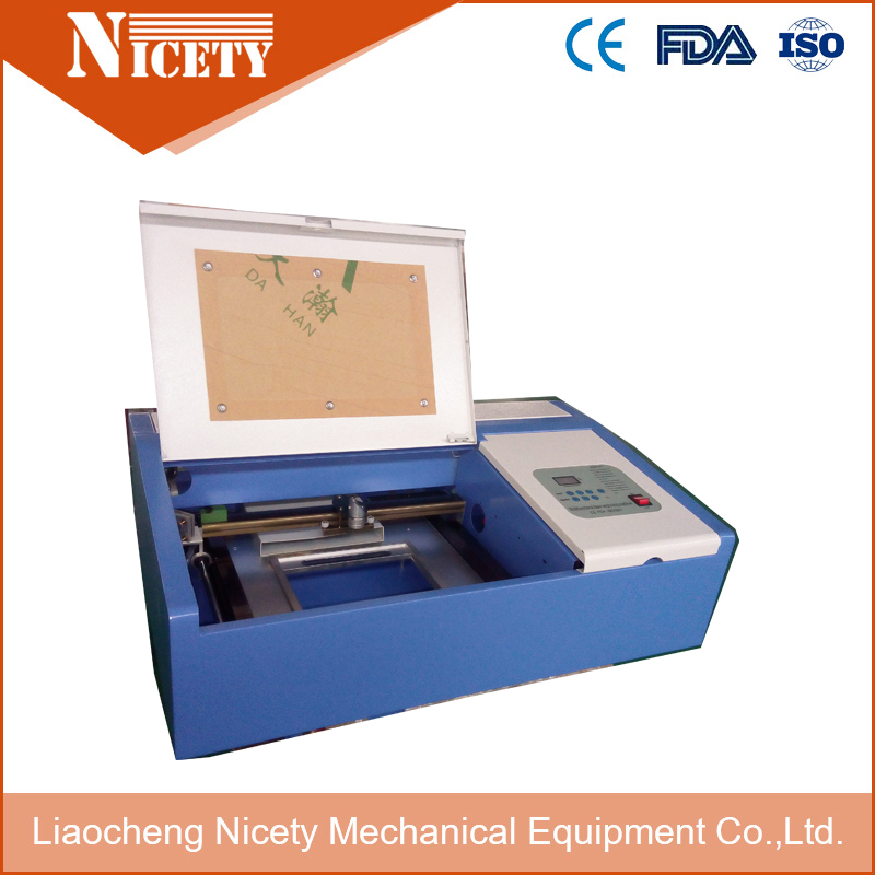 50w Co2 Mini Laser Engraving Machine 320 For Cutting Paper