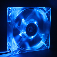 Transparent 9025 90mm fan / 9cm 4-pin / line pwm temperature control two ball bearings CPU cooling chassis fan